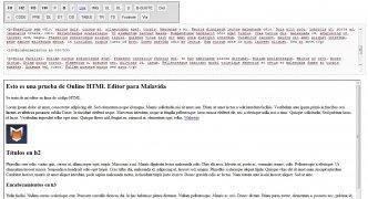 Online HTML Editor imagem 1 Thumbnail