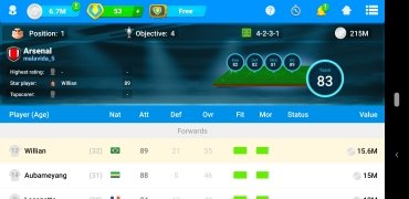 Online Soccer Manager (OSM) image 5 Thumbnail