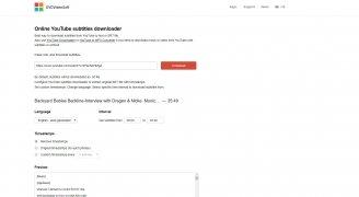 Online YouTube Subtitles Downloader imagen 2 Thumbnail