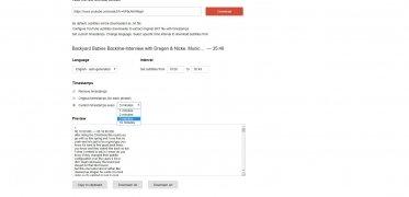 Online YouTube Subtitles Downloader imagen 4 Thumbnail