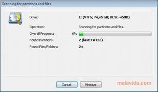 O&O FormatRecovery imagen 2 Thumbnail