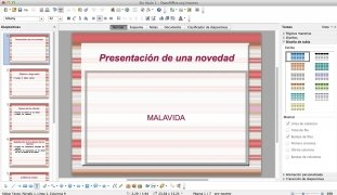 OpenOffice  4.1.1 Español imagen 4