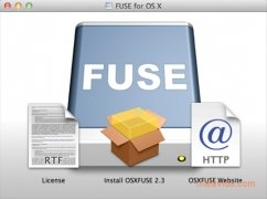 OSXFuse imagen 1 Thumbnail