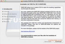 OSXFuse imagen 2 Thumbnail