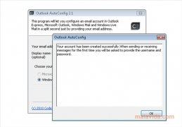 Outlook AutoConfig imagen 3 Thumbnail