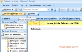Outlook SMS immagine 1 Thumbnail
