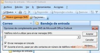 Outlook SMS imagen 2 Thumbnail