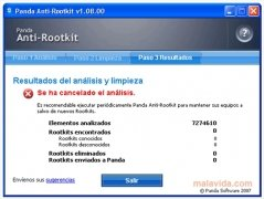 Panda Anti-Rootkit immagine 4 Thumbnail