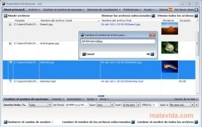 Panda Batch File Renamer Изображение 3 Thumbnail