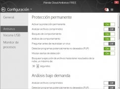 Panda Cloud Antivirus image 3 Thumbnail
