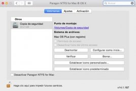 Paragon NTFS for Mac image 2 Thumbnail