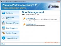 Paragon Partition Manager bild 2 Thumbnail