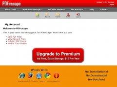 PDFescape imagen 2 Thumbnail