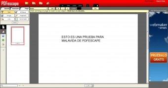 PDFescape imagen 3 Thumbnail