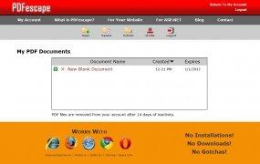 PDFescape imagen 4 Thumbnail
