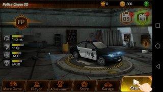 Persecución coche de policía imagen 2 Thumbnail