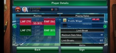 PES CLUB MANAGER image 4 Thumbnail