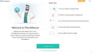 PhoneRescue per iOS immagine 1 Thumbnail