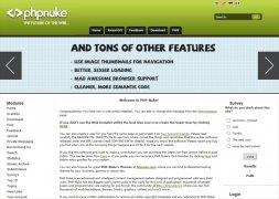 PHP-Nuke  8.2.4 imagen 1