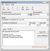 PicoZIP Recovery Tool imagen 3 Thumbnail
