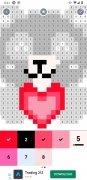 Pixel Art: Livre de peinture à numéros image 4 Thumbnail