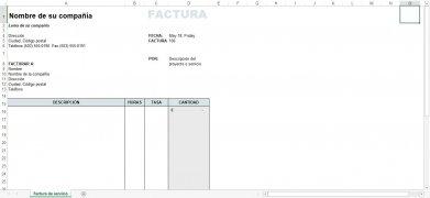 Plantillas Facturación Excel imagen 4 Thumbnail