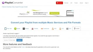 Playlist Converter immagine 4 Thumbnail