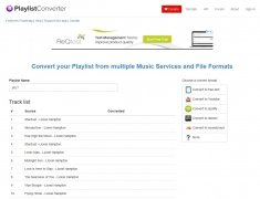 Playlist Converter immagine 5 Thumbnail