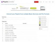 Playlist Converter image 5 Thumbnail