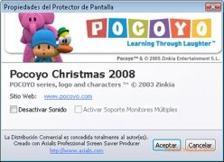Pocoyo Christmas Screensaver image 2 Thumbnail
