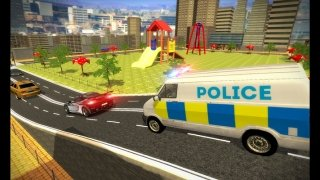 Police Mini Bus Crime Pursuit 3D imagem 1 Thumbnail