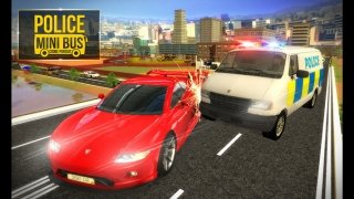 Police Mini Bus Crime Pursuit 3D imagem 2 Thumbnail