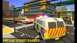 Police Mini Bus Crime Pursuit 3D image 3 Thumbnail