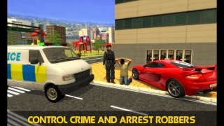 Police Mini Bus Crime Pursuit 3D imagem 4 Thumbnail