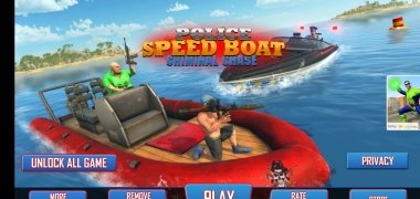 Police Speed Boat Gangster Chase imagen 2 Thumbnail