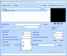 Power MP4 iPod PSP 3GP AVI MPG WMV Video Converter imagem 2 Thumbnail