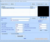 Power MP4 iPod PSP 3GP AVI MPG WMV Video Converter imagem 5 Thumbnail
