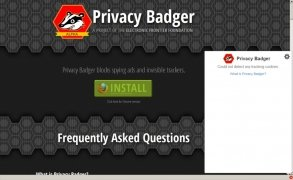 Privacy Badger imagem 1 Thumbnail