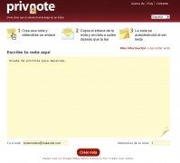 privnote imagen 1 Thumbnail