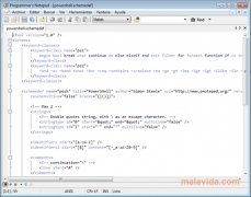 Programmer's Notepad image 3 Thumbnail