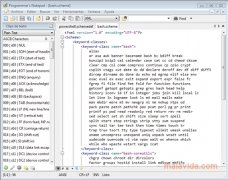 Programmer's Notepad immagine 4 Thumbnail