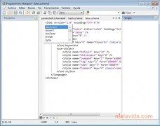 Programmer's Notepad imagen 5 Thumbnail