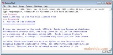 Python  3.4.0 imagen 3