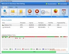 Quicksys Disk Defrag Изображение 1 Thumbnail