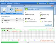 Quicksys Disk Defrag Изображение 5 Thumbnail