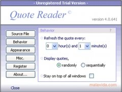 Quote Reader immagine 1 Thumbnail