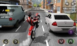 Race the Traffic Moto image 1 Thumbnail