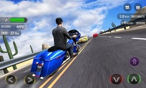 Race the Traffic Moto image 3 Thumbnail
