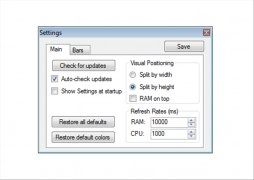RAM CPU Taskbar imagen 1 Thumbnail