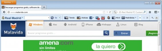 Real Madrid FC Toolbar image 1 Thumbnail